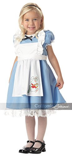 Alice And Wonderland Rabbit Costumes (Lil' Alice in Wonderland Child Costume (Ages 4-6))