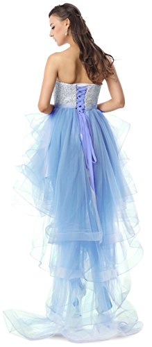 High Charmian Party Homecoming Low Women's Blau Evening Wedding Prom Dresses Pageant 4qBASqn