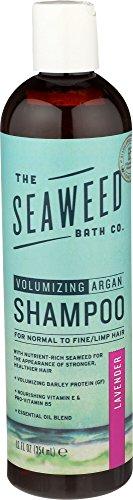 The Seaweed Bath Co. Volumizing Lavender Argan Shampoo, 12 ounce