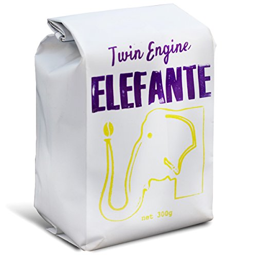 Twin Engine Coffee RESERVE ELEFANTE - Cup of Excellence Winner, Ground Coffee, Nicaraguan Coffee, 300g 10.6oz | packaged at the source | Nicaragua's Coffee