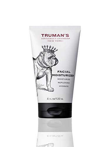 Truman s Gentlemen s Groomers Men s Facial Moisturizer w Cooling Eucalyptus oil Rich in Vitamin B to Reduce Inflammation, 4 oz