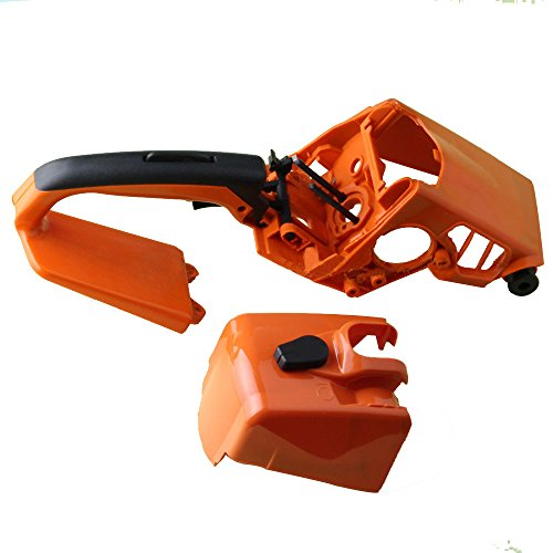 (Podoy MS250 Chainsaw Parts for STIHL 021 023 025 MS230 MS210 Back Cylinder Shroud Cover Rear Handle & Air Filter Cover)