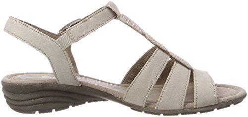 Verano übergrößen 24 sandalias Cuña sandalias best puder 550 plana zapatos cómodo Mujer De Del sandalias Gabor Cuña Fitting Multicolor PndqafPyR