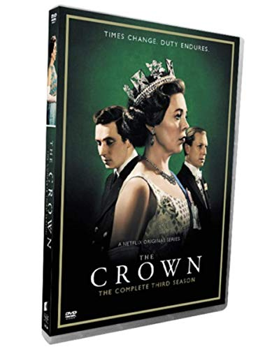 Buy Cheap The Crown Season 3 (3-disc DVD Set 2019)