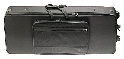 Stagg Black KTC-145 XD Extra - Deep Keyboard Case & with Wheels & Thick Foam Padding - Black [並行輸入品] B07MH9WM97, スキップハウス:3f5c625c --- kapapa.site