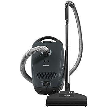 Miele 41BAN031USA Classic C1 Capri Canister Vacuum, Lava Grey - Corded