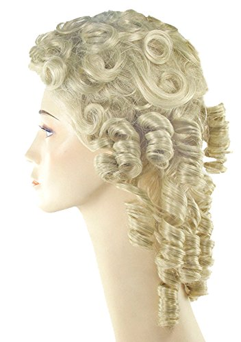 Morris Costumes Southern Belle Hair Attachment - Banana Curls Costumes Wig