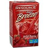 Resource Breeze Wildberry 8oz Brikpaks 27/Case ** 4 Case Special**