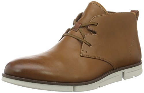 Clarks Trigen, Botines para Hombre Marrón (Tan Leather)