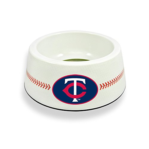 GameWear Minnesota Twins Classic Baseball Pet Bowl