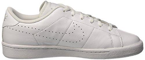 Nike Tennis Classic Prm (Gs), Zapatillas de Gimnasia para Niños Blanco (White / White)