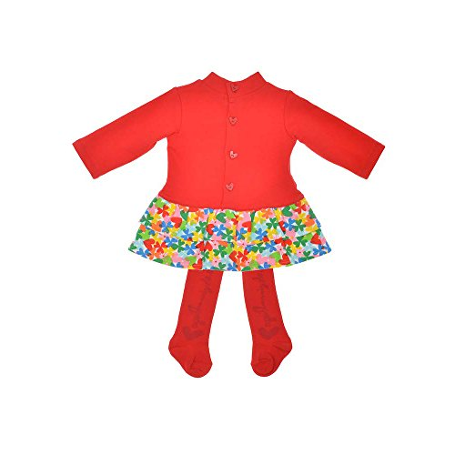 a Vestitino per bambina La da ragazza Ruiz 0 rosso attillato 24 De Agatha mesi Prada xFgPIw