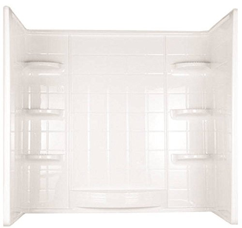 DELTA GIDDS-193053 Indulgence Bathtub 3-Piece Wall Surround, 59-1/4 x 60 x 31-1/4