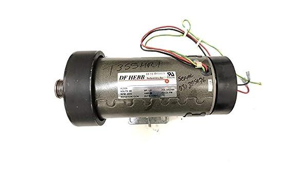 DC Drive Motor KK2566 A2DO6 Funciona con Trimline Nautilus Schwinn ...