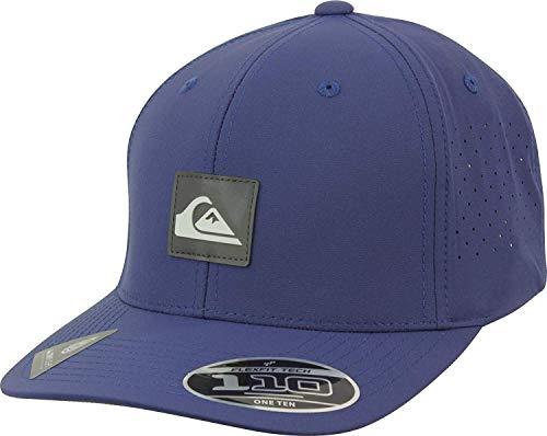 (Quiksilver Men's Adapted Strapback Adjustable Hats,One Size,Navy Blazer)