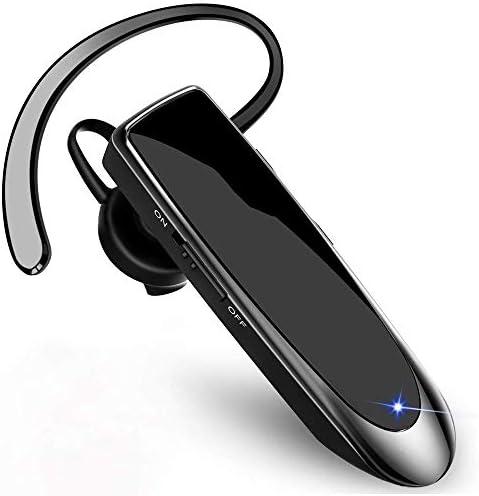Bluetoothヘッドセット、ドライビングヘッドセットBluetoothヘッドセット、24時間通話時間ノイズ低減マイクヘッドセットIphone IpadサムスンAndroid zz
