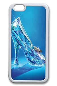 Glass Slippers Slim Soft Cover for iPhone 6 Case (4.7 inch) TPU Black