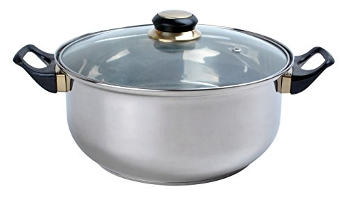 Aramco Alpine Gourmet Dutch Oven, 2 quart, Stainless Steel by Aramco