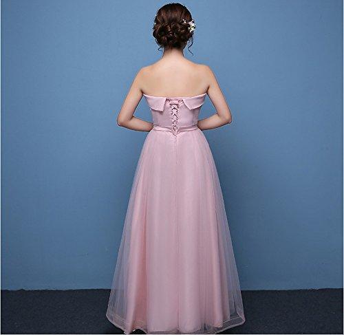 KA Beauty - Vestido - para mujer Pink5