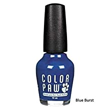 Color Paw Nail Polish Blue Burst @