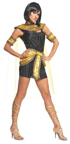 Underwraps Costumes  Women's Cleopatra Costume - Nile Princess, Black/Gold, Small