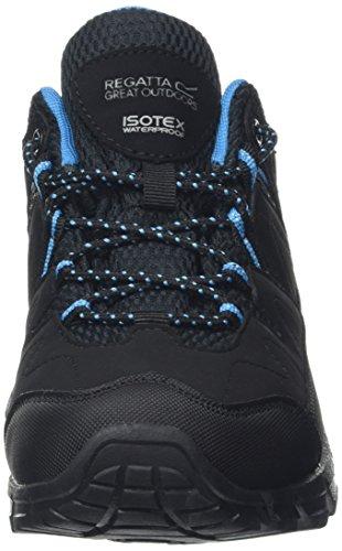 Methyl 8 UK Lady Femme Holcombe Tourbe Chaussures Low de Regatta Randonnée Black Basses Noir HOBaxq