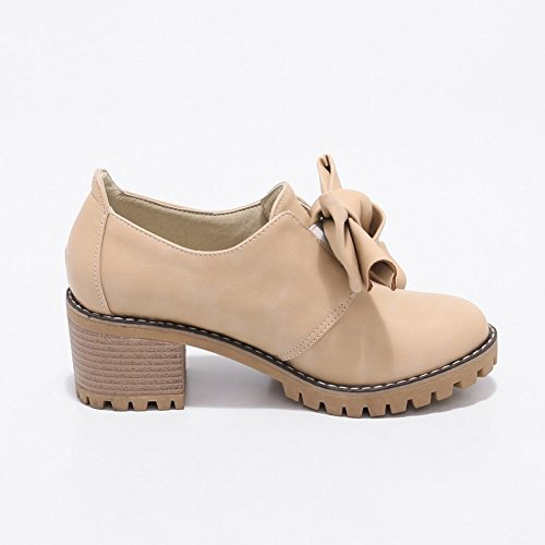 Glissière Darc Latasa Womens Sur Des Chaussures Chunky Beige