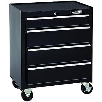 Elegant 6 Drawer Rolling Cabinet