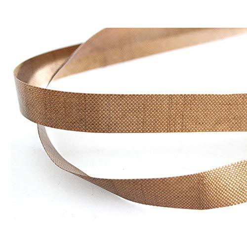 Sumeve 50pcs polytef teflon Belt for Continuous sealing machine Continuous Band Sealer Plastic Band Film Bag Sealer Strip 750mmx15mmx0.2mm