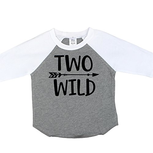 Olive Loves Apple Two Wild 2nd Birthday Shirt For Toddler Boys Boy 3
