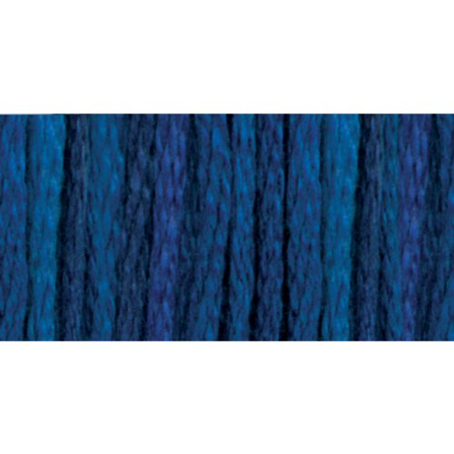 DMC 417F-4240 Color Variations Six Strand Embroidery Floss, 8.7-Yard, Mid Summer Night