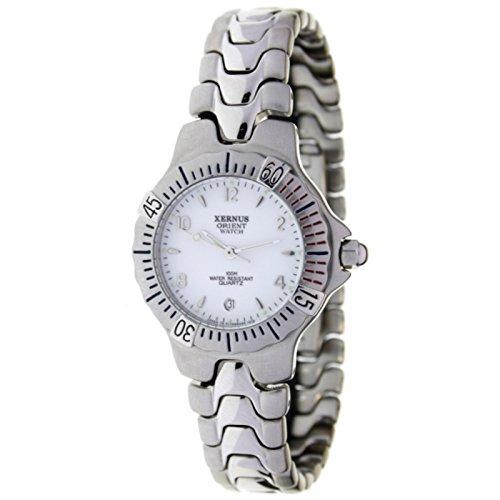 Orient Watch K-178543-a Reloj Analogico para Mujer Colección Xernus Caja De Acero