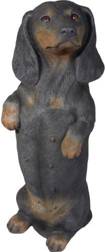 Sandicast Sculpture, Life Size, Black