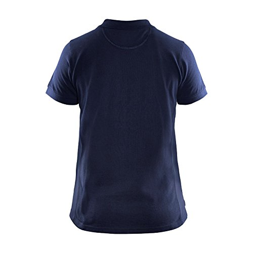 Blaklader 339010508900L Women Polo Shirt, Size L, Navy Blue by Blaklader (Image #2)