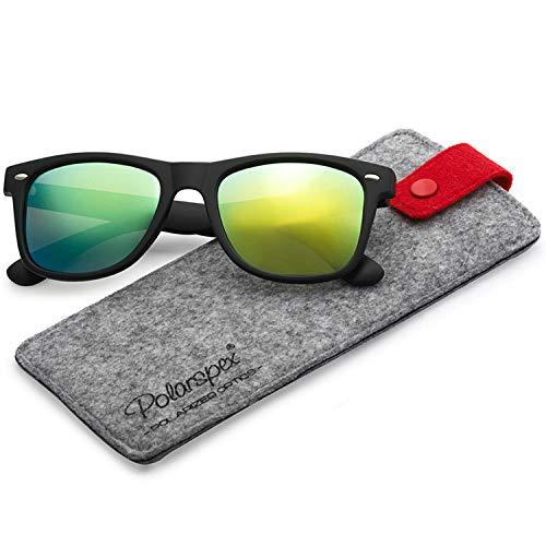 Polarspex Polarized 80's Retro Classic Trendy Stylish Sunglasses for Men Women ()