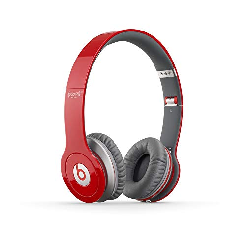 Beats Solo HD RED Edition On-Ear Headphones (Discontinued by Manufacturer) (Renewed)