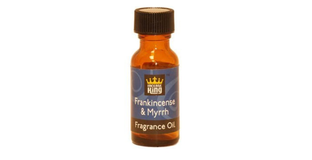 Amazon Com Frankincense Myrrh Scented Oil From Incense King 1 2 Ounce Bottle Beauty