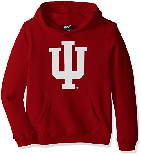 Fleece Ncaa Pullover Sweatshirt - Outerstuff NCAA Kids & Youth Boys Primary Logo Fleece Hoodie, Victory Red, Youth Medium(10-12)