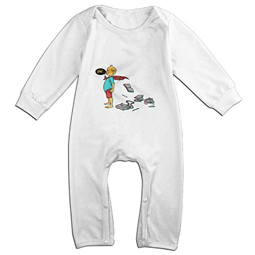 Makers Mark Costume (Raymond School Long Sleeve Jumpsuit Outfits White 18 Months)