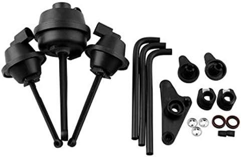 インテークマニホールド排気バルブ修理修理キット自動車部品自動車インテークマニホールド排気バルブ修理セット-ブラック