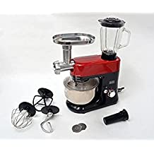 Black & Decker SM700 650W 220V Stand Mixer Food Processor with Blender & Meat Grinder, Silver