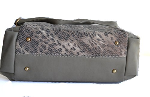 Gray animal hobo purse women cheetah shopper print leopard shoulder gwqSf8