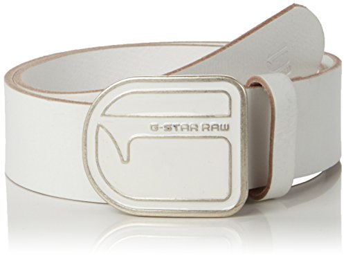 G-star Raw Accessories (G-star Raw Men's Lador Belt, White, 80)