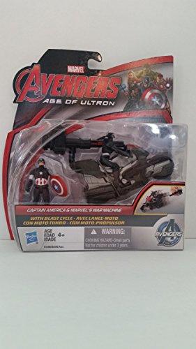Marvel Avengers Age of Ultron Captain America & War Machine Hasbro 2 Pack Set