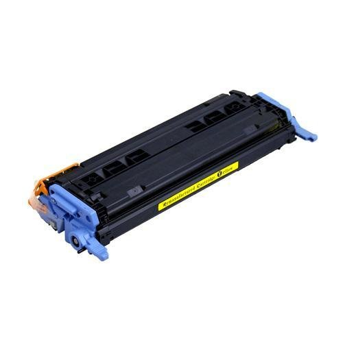 High Yield HP Q6002A Yellow Toner Cartridge for HP Color LaserJet 2600n 1600 2605dn 2605dtn CM1015mfp CM1017mfp Series Printers, Remanufactured, Office Central
