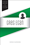 Greg Egan (Modern Masters of Science Fiction)
