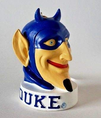 Oxbay Duke Blue Devils Mascot Head Resin Christmas Ornament 4