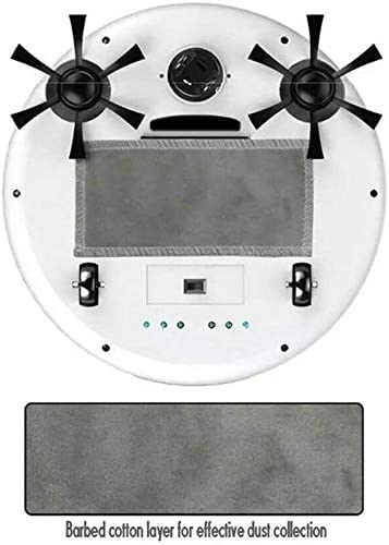 8bayfa Aspirateur Robot, Rechargeable Smart Home Robot Balayer, 4 en 1 3200Pa USB Smart Auto Balayer Sec Vadrouille Forte Aspiration Sweeper