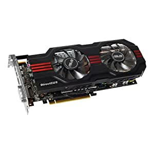ASUS HD7870-DC2-2GD5 Radeon 2GB DDR5 VGA/DVI/HDMI/DisplayPort GPU Tweak Utilities PCI-Express 3.0 Graphics Card HD7870-DC2-2GD5