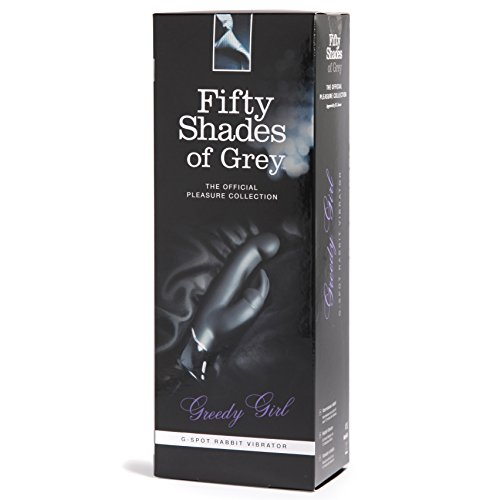 Fifty Shades of Grey Greedy Girl G-Spot Rabbit Vibe by Fifty Shades of Grey (Image #1)